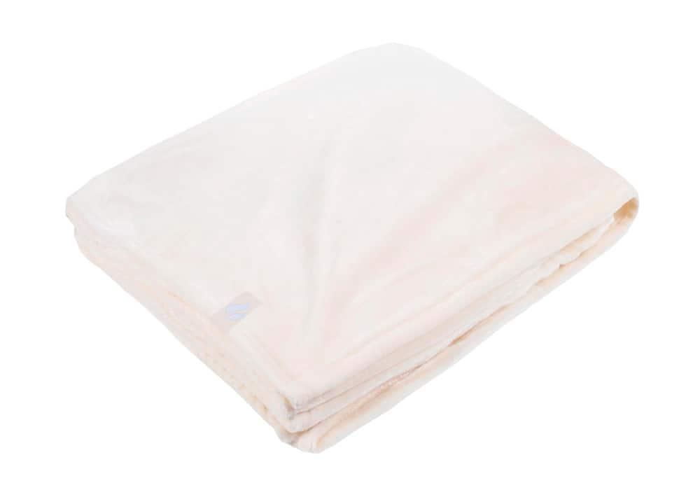 Heat Holders Extra Soft White Large Luxury Thermal Fleece Blanket