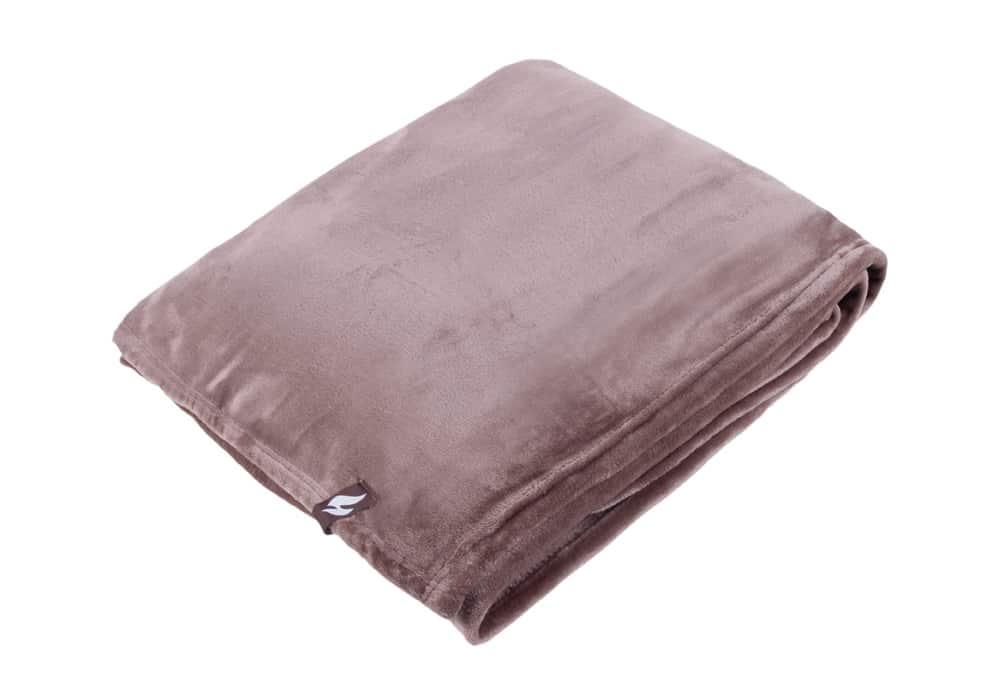 Heat Holders Extra Soft Beige Large Luxury Thermal Fleece Blanket