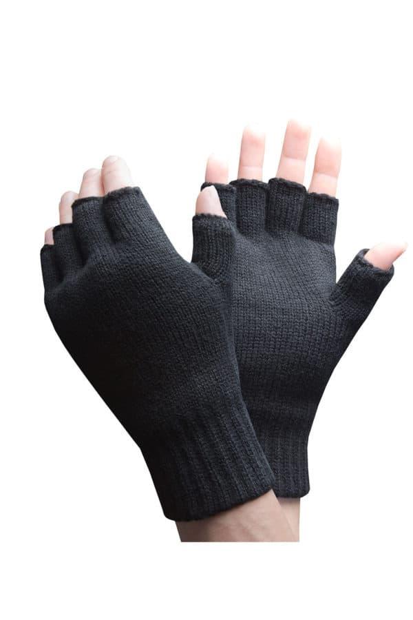 Black fingerless main