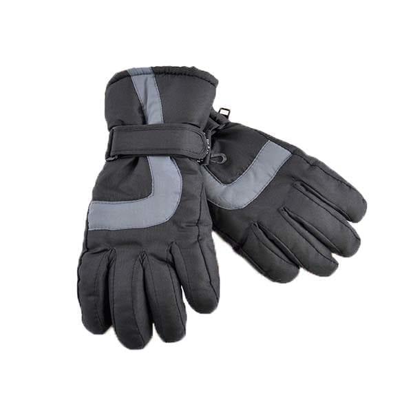 Black ski gloves 1