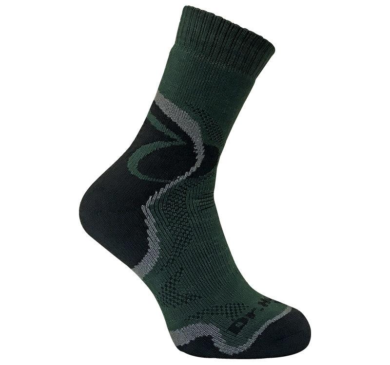 Dr Hunter - Mens Thick Cushioned Merino Wool Thermal Hiking Hunting Crew Socks