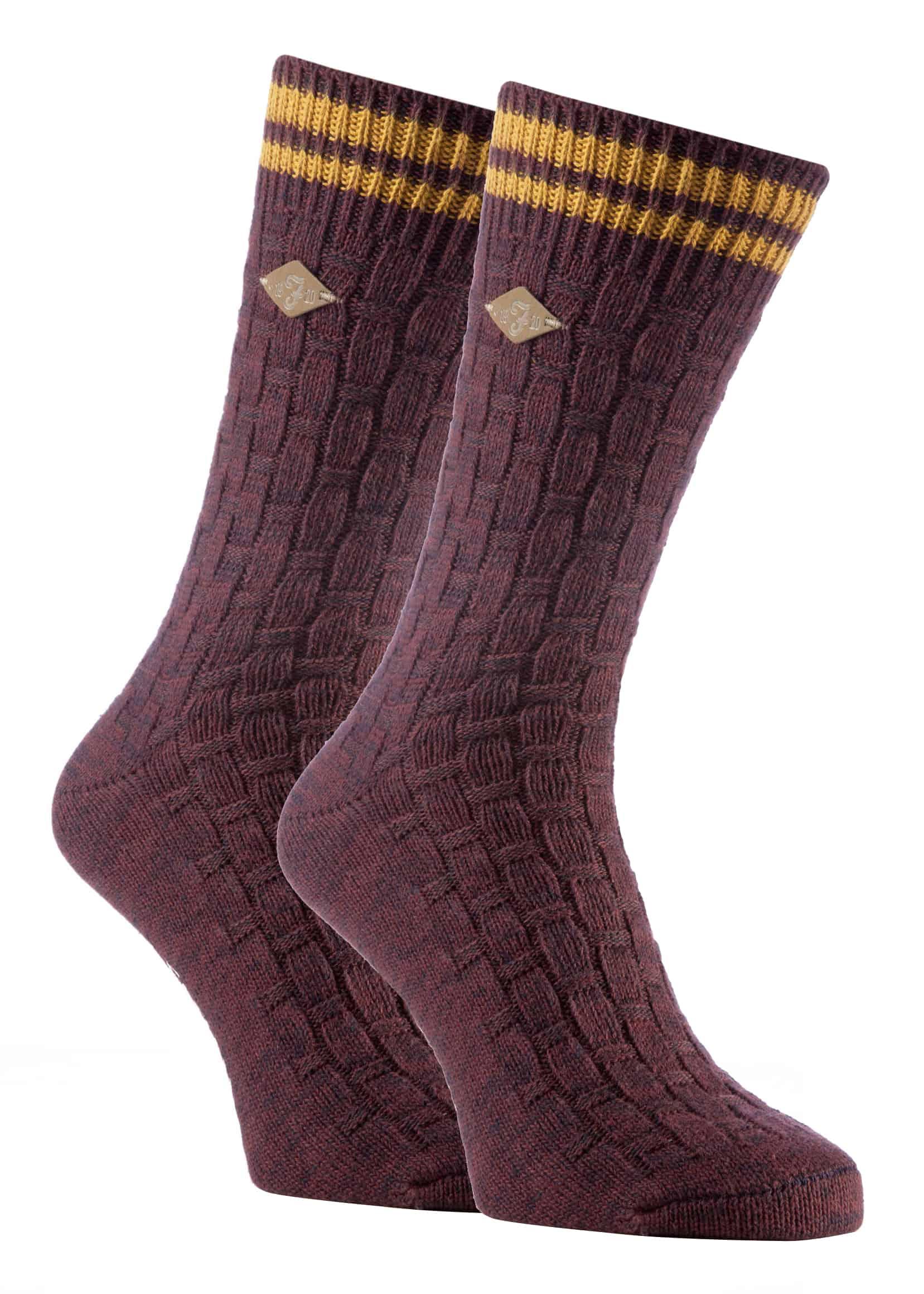 3 Pairs Of Mens Non Elastic Wool Socks Thick Chunky Work Boot Socks 6-11