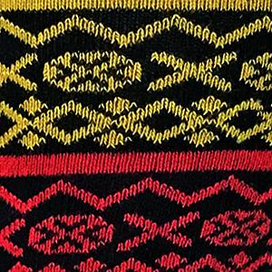 Fairisle Red / Yellow