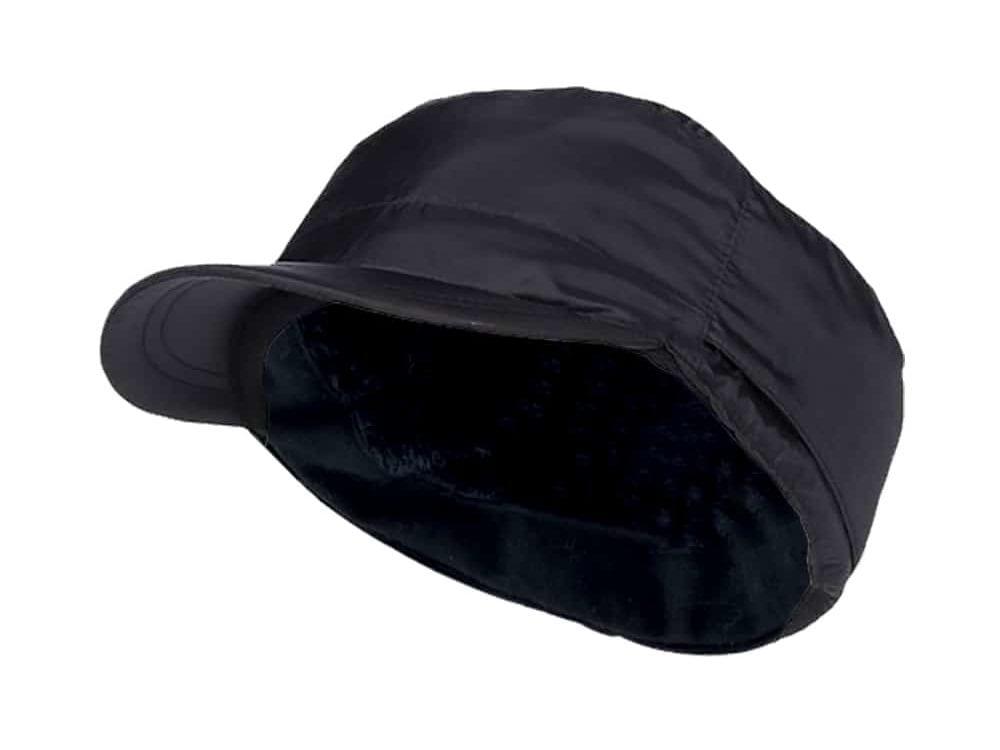 Men's Heat Holders Waterproof Black Fleece Lined Adventurer Cap