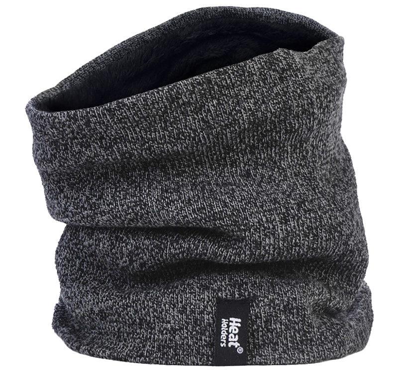 Heat Holders - Mens Winter Thermal Fleece Lined Neck Warmer