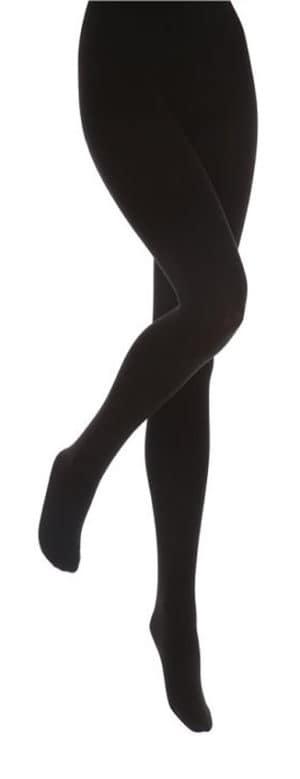 Ladies Heat Holders Black Extra Warm Brushed Thermal Tights