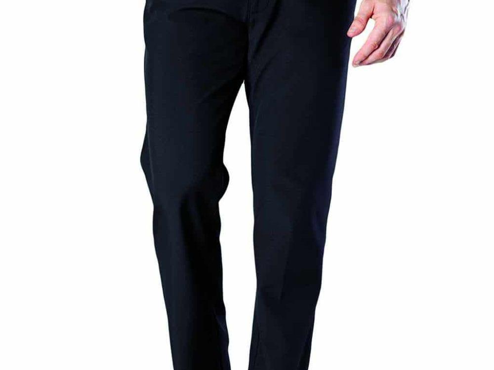 Men's Heat Holders Black Fleece Lined Thermal Trousers