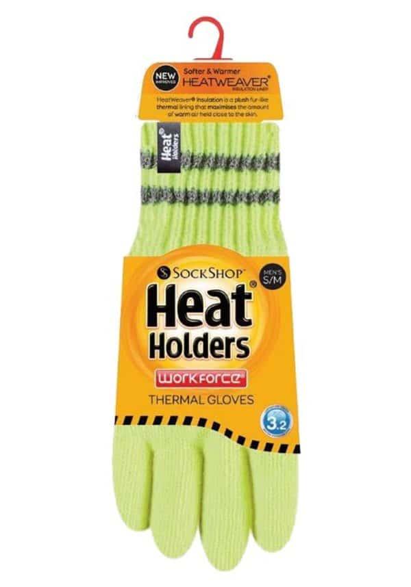Hi Vis Gloves Yellow Pack