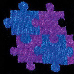 Jigsaw Blue / Purple