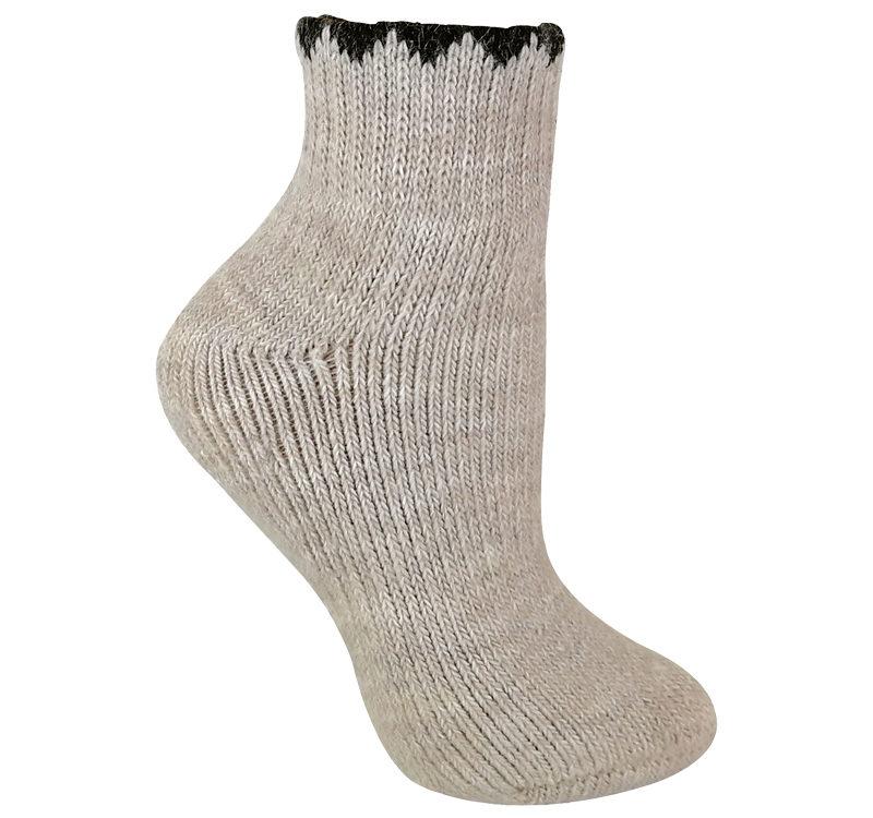 Ladies Alpaca Wool Walking Boot Socks