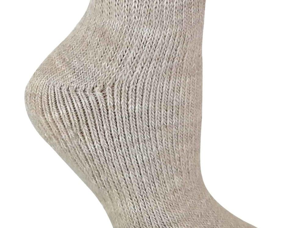 Ladies Alpaca Wool Socks - Cream