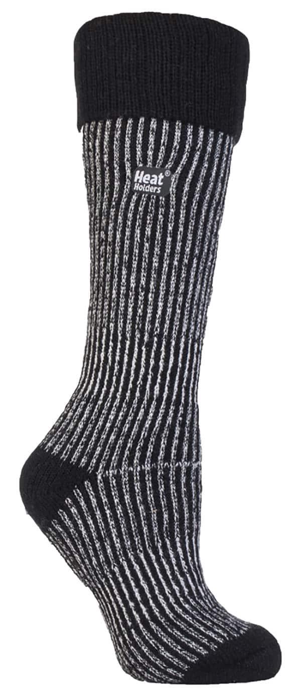 Ladies Black Boot Sock
