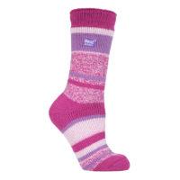Ladies Heat Holders Soft Thick Thermal Twist Socks