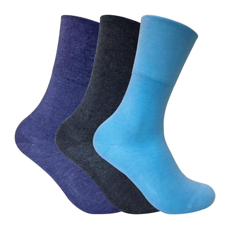 ladies 3 pairs of thermal diabetic socks