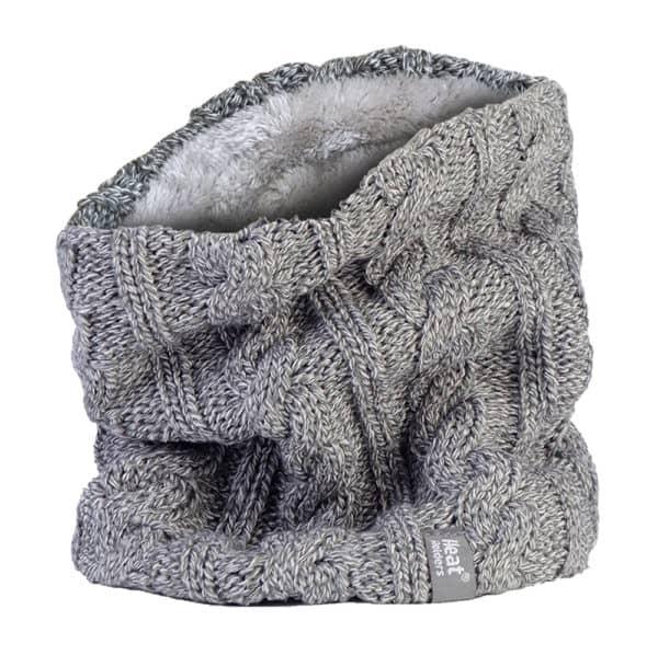 Light Grey Neck warmer 2 V2