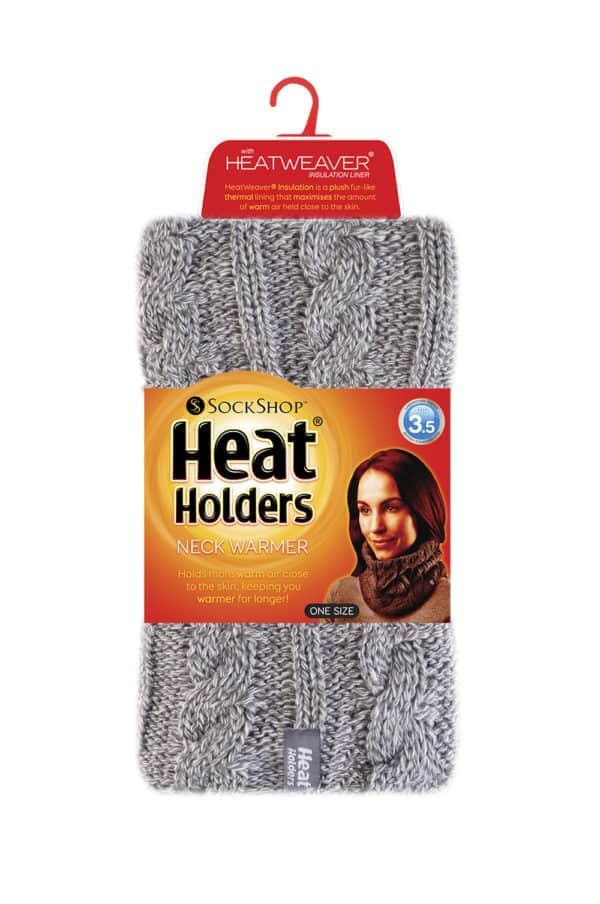 Light Grey Neck warmer Packshot