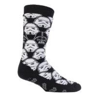 Mens Heat Holders Character Slipper Socks. Star Wars, Marvel, DC, Minions.