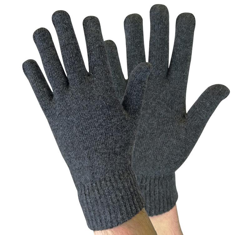 mens thick wamr magic wool blend gloves