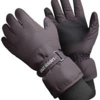 Mens Ski Gloves Hand Shot