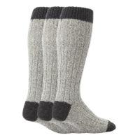 mens worforce extra long 3 pack thermal wool work boot socks
