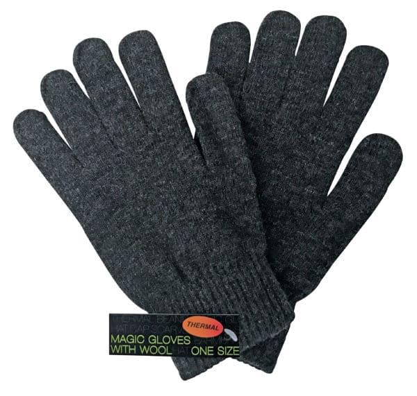 Mens Wool GRY 2