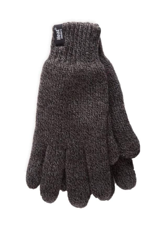 Mens gloves grey