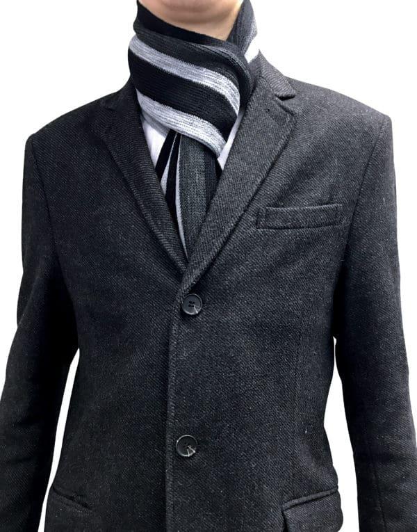 NEW Black & Grey Scalf 5