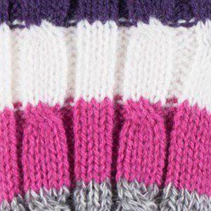 Grey / Purple Stripe