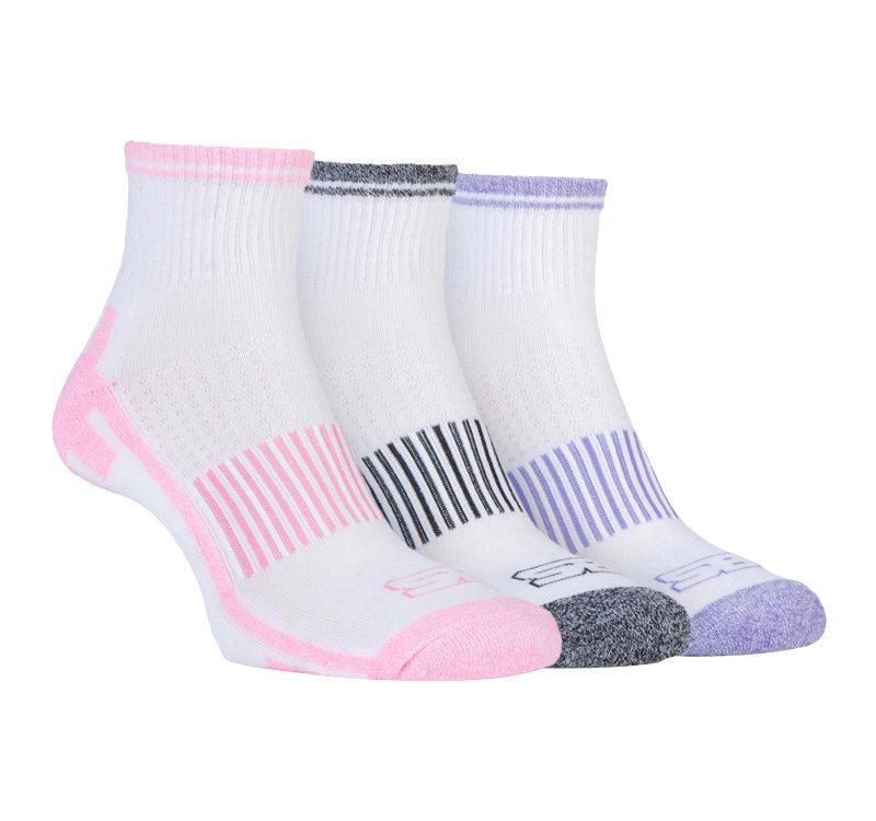Storm Bloc 3 Pack Womens Ankle Sport Socks