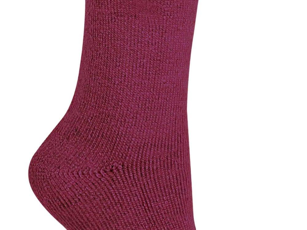THMO Ladies Thermal Socks - Fuchsia