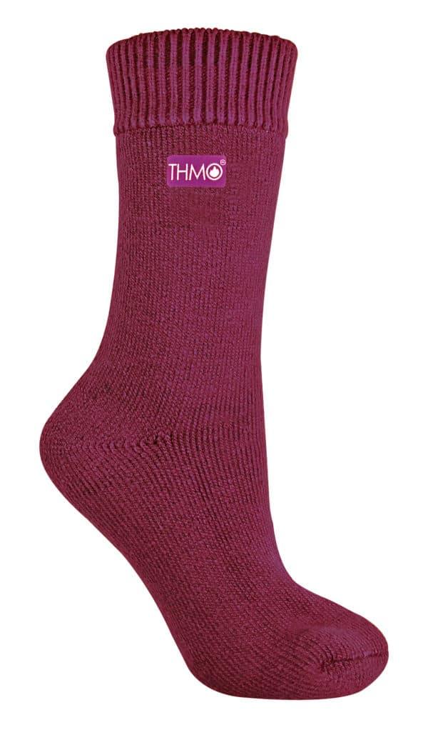 THMO Ladies Black Thermal Socks