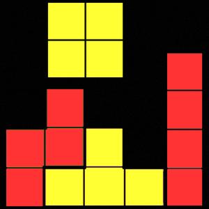 Tetris Red / Yellow