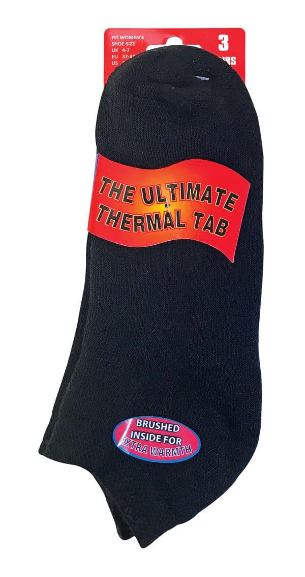 Thermal Ankle Black PACK