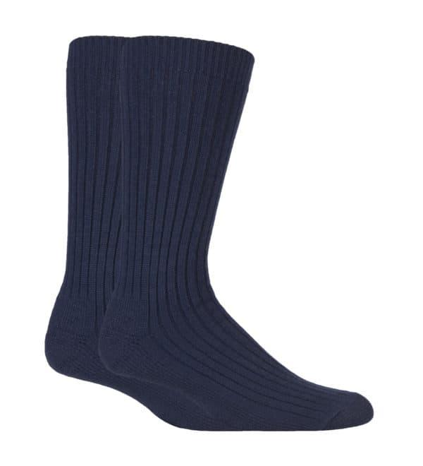 Work Force walking socks navy 2 pack