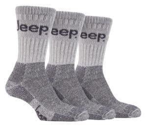 Mens Luxury Jeep Terrain Socks for Boots in Stone Beige