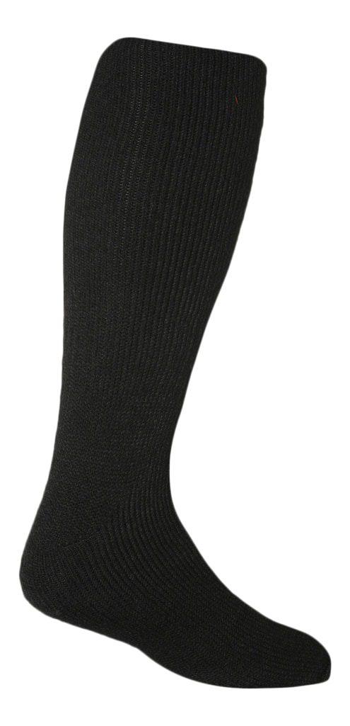 mens long black leg