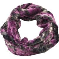 snood purple round