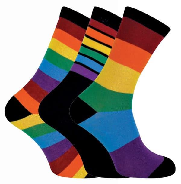 Mens Rainbow Socks