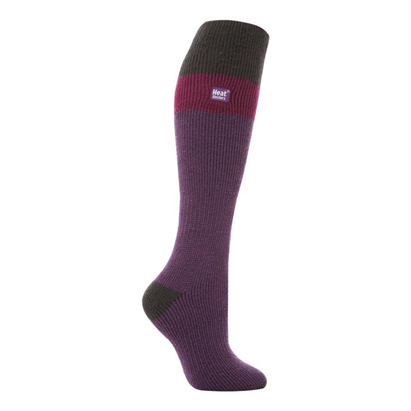 Heat Holders - Ladies Extra Long Knee High Winter Warm Thermal Ski Socks