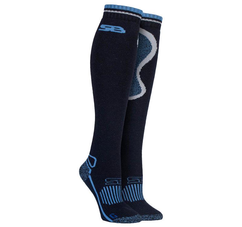 Storm Bloc - Ladies Knee High Wool Cushioned Thermal Equestrian Tall Boot Socks