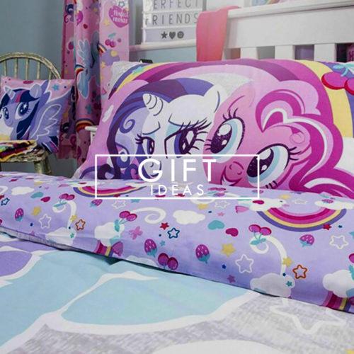 gift ideas at sock snob uk - my little pony unicorn duvet cover