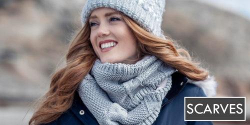 ladies scarves & neck warmers - sock snob uk
