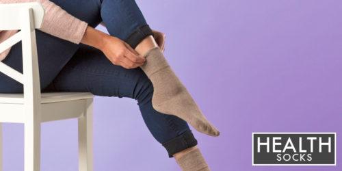 ladies health socks - ladies diabetic socks - gentle grip - sock snob uk