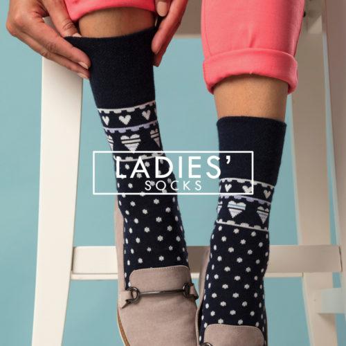 ladies socks - shop ladies socks online sock snob uk - gentle grip black socks with hearts