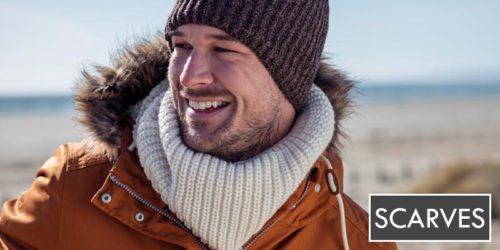 mens hats - heat holders ribbed brown hat - sock snob uk