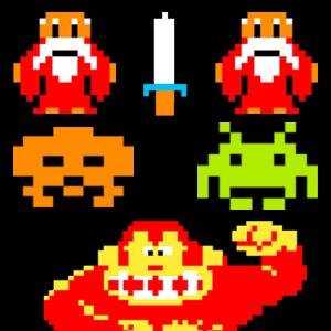 Zelda / DK / Space Invaders